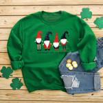 New fashion Santa print loose casual round neck Sweatshirt
