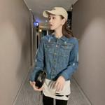 Fashion streetwear Demin Jacket Harajuku Vintage
