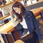 Demin Jackets Coat Female New Fashion