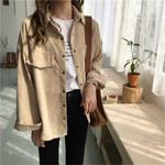 Corduroy Jacket Vintage Loose New Shirt