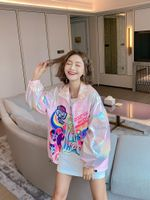 High Street Cartoon Printed Jacket