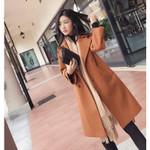 woolen coat female Mid-Long New temperament