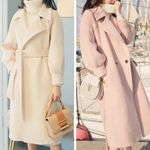 Elegant Turn-down Collar Loose Long Outerwear Coats