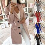 Wool Coat Long Ladies jackets Coat