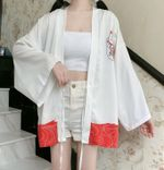 Thin Coat Fashion Bathrobe Kimono