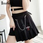 Streetwear Punk High Waist Skirts