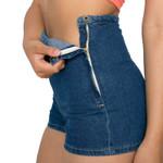 Slim High Waist Jeans Denim Tap Short Hot Shorts