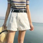 Fashion Solid jeans shorts casual denim shorts