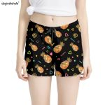 Cartoon Pineapple Patterns Short Pants