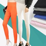 Large Size Outer Wear Candy-Colored Pencil Pants