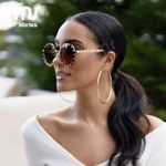 Luxury Brand Diamond Vintage Sunglasses