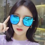 New Style Sun Glasses Big Box Reflective Lenses