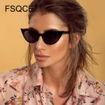 Cool personality street Fashion Vintage Cat Eye Sunglasses