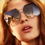 Luxury Designer Sunglasses Vintage Square