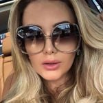 New Fashion Round oversized Sunglasses