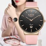 Pink Watch Fashion Waterproof Watch