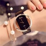 Top Leather Quartz Watch Lady Watches Luxury