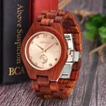 Wood Watch Luxury Brand Quartz Wristwatch