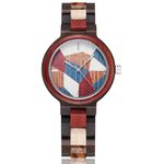 Elegant Colorful Wood Small Wooden Wristwatch