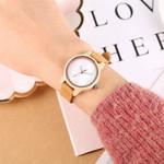 Trendy White Dial Maple Wood Quartz Watch