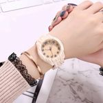 fashion watches hot sale wood color watch