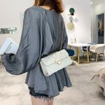 New Style PU Handbag with Chain Single-shoulder Bag