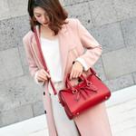 Fashion Solid Color Handbag Bag New Style