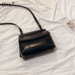 Solid Color PU Leather Crossbody Bags