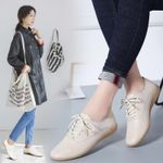 New Style Genuine Leather White Shoes