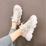 Casual Shoes Comfortable Breathable print crystal Sneakers