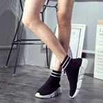 Casual Shoes High Top Knitted Leisure Shoes