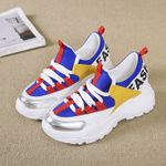 Mix Color Chunky Sneakers Shoes