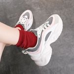 Sneakers New Female Thick Sole Running Casual Shoe