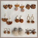 female temperament personality leopard Earrings