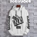 Popular Brand Hoodie Trend Loose-Fit Couples