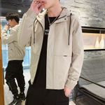 Trend Handsome outside Clothes Hooded Jacket