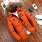 Brand Jacket White Duck Down Parkas Jacket