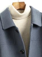 Short Wool Double-sided Jacket Coats