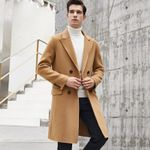 Wool Coat Jacket Double-side Woolen Coats