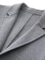 Wool Jacket Handmade Double-side Woolen Coat