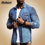 New Slim Fit Jeans Jacket Cowboy Fashion