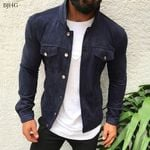 Brand Fashion Slim Jackets Casual Denim Jacket