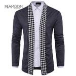 Sweater Knitwear Mid-length Style Knit Cardigan Standard Wool
