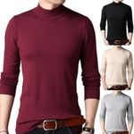 Casual Solid Color Long Sleeve O Neck Pullover Sweater