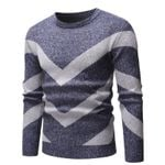 New Sweater Fashion Slim Fit Striped Sweater