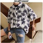 Fashion Shirts Printed Print Short Sleeve Blouse