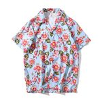 Fashion Shirts Casual Short Sleeve Beach Tops Loose