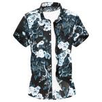 Hawaiian New Loose Large Size Short Shirt