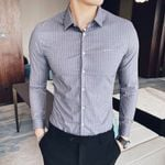 Fashion Striped Dress Casual  Formal Business Shirts