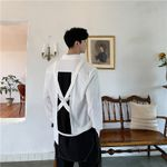 Split Casual Long Sleeve Streetwear Stage Dress Shirts
